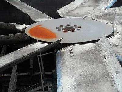 خوردگی و خراب شدن پره آلومینیومی در برج خنک کن