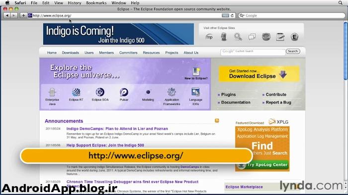 مراحل نصب ایکلیپس (Eclipse) روی ویندوز :: آموزش برنامه نویسی اندرویدآموزش برنامه نویسی اندروید