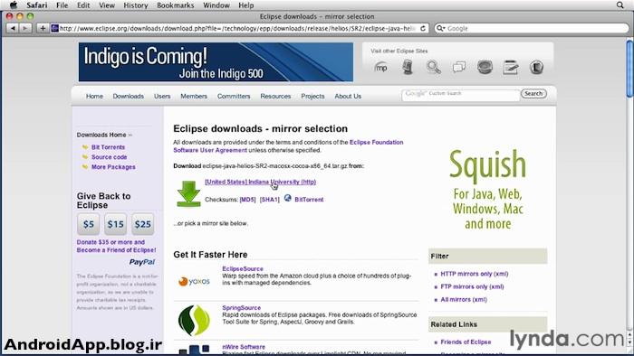 مراحل نصب ایکلیپس (Eclipse) روی ویندوز :: آموزش برنامه نویسی اندرویدمراحل نصب ایکلیپس (Eclipse) روی ویندوز