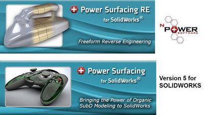 اد این پاور سورفیسینگ برای سالیدورک(free download power surfacing and crack)