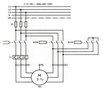 روش های رراه اندازی موتورهای القایی - ستاره مثلث