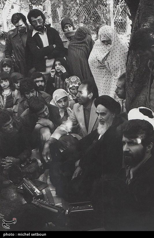 امام خمینی (ره) در میان مردم شهر و روستا