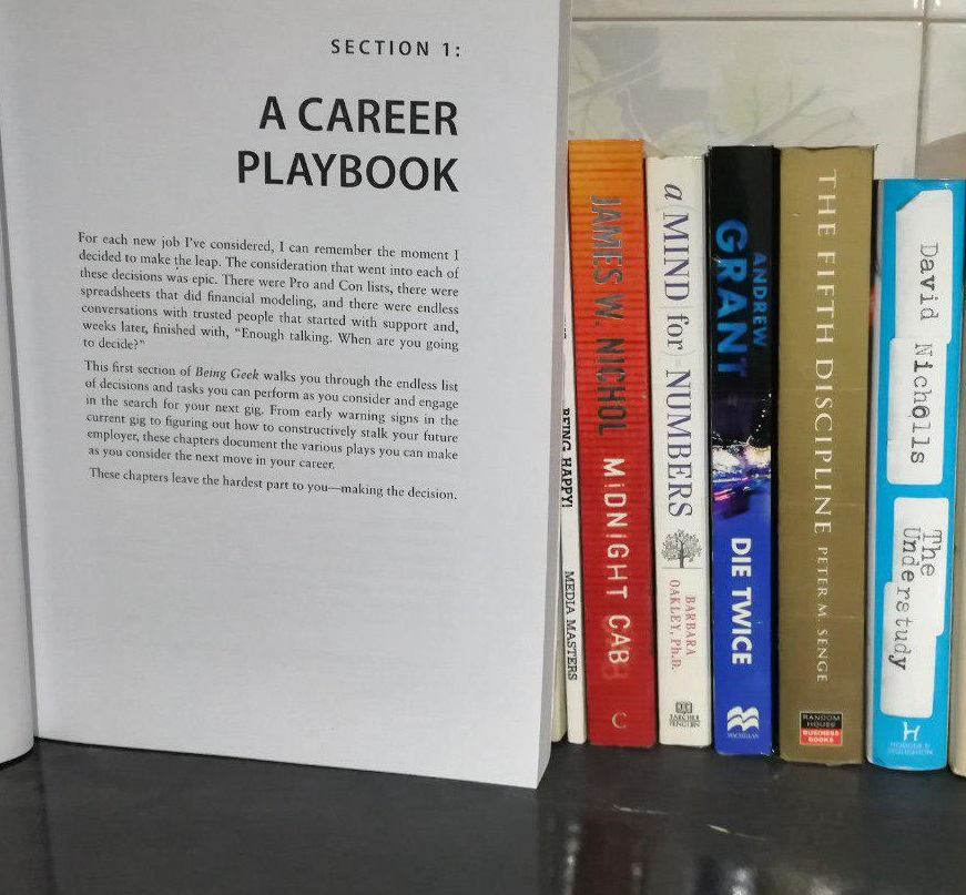 Being Geek A Career PlayBook