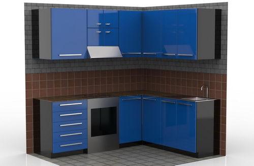 دانلود پروژه آماده کابینت آشپزخانه در سالیدورکس