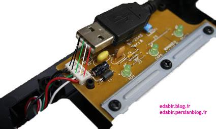آموزش رنگ سیم های USB :: دبیر الکترونیکی
