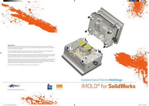 دانلود اد این طراحی قالب تزریق سالیدورک, Free download IMOLD plugin for Solidworks