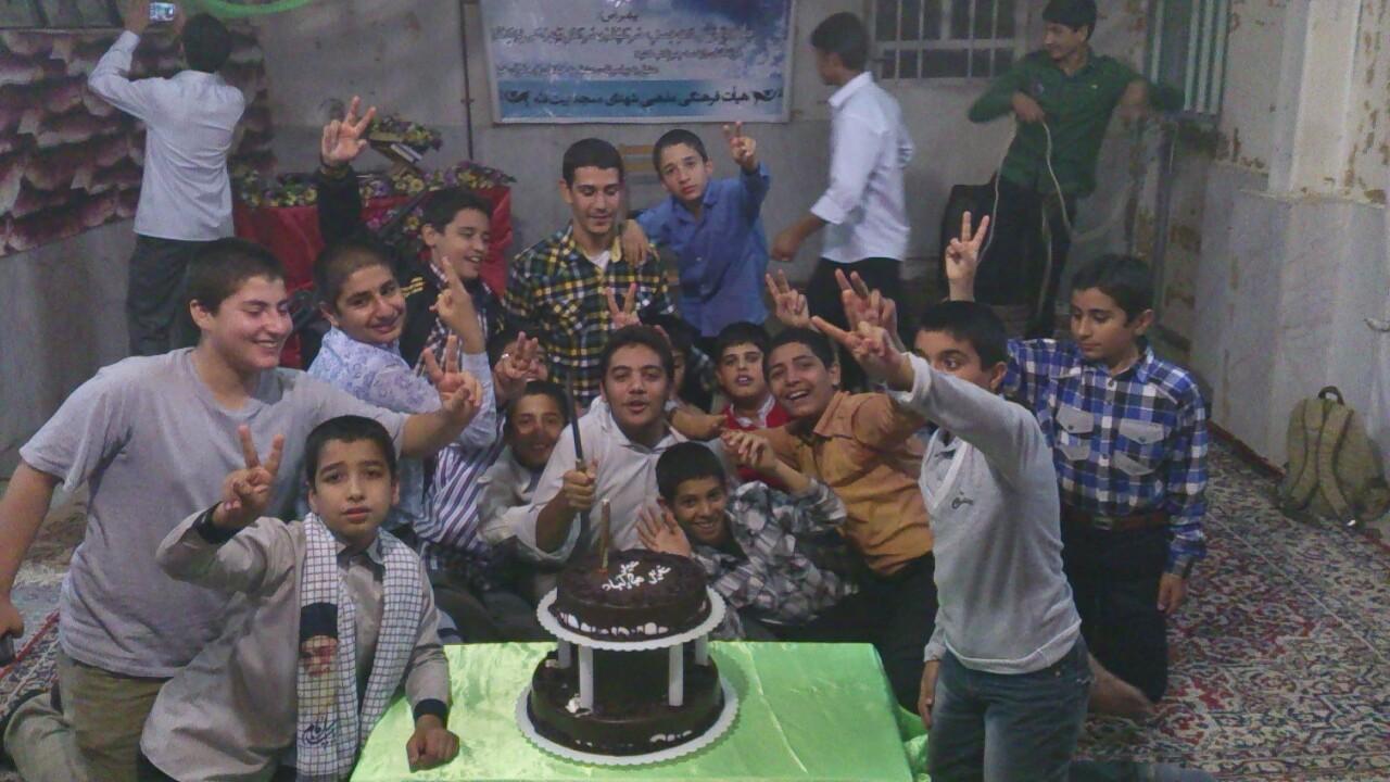 هيات نوگولان حسيني مسجد بيت الله فسا