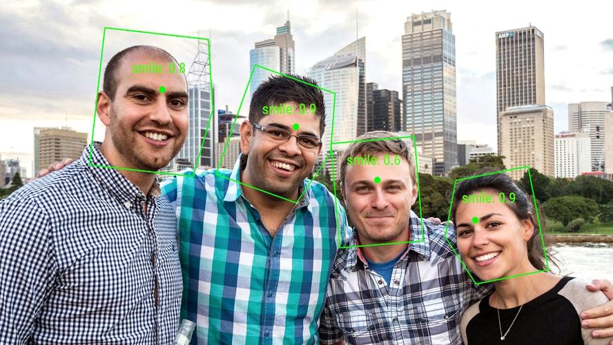 تشخیص چهره با استفاده از Google Vision