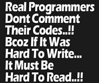 real programmers...