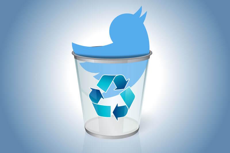 شروع نابودی توییتر