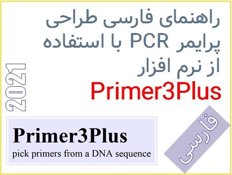 راهنمای فارسی طراحی پرایمر PCR با استفاده از نرم افزار Primer3Plus