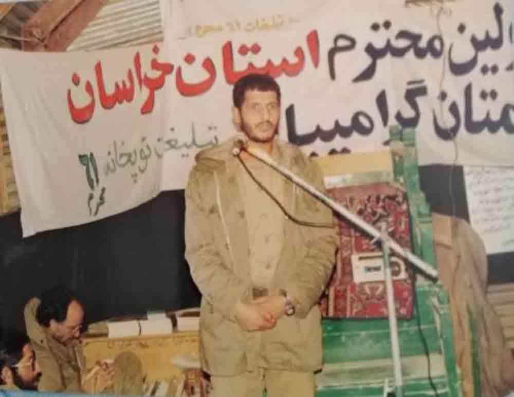 پادگان 61محرم تربت حیدریه-شهید حاج مصطفی تقی جراح
