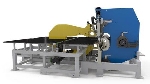 مدل سه بعدی دستگاه طراحی شده با نرم افزار سالیدورک