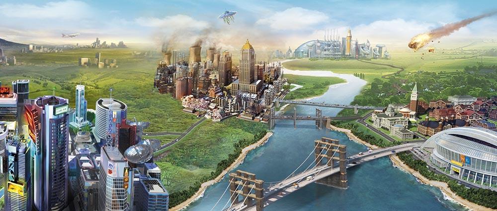 بازی sim city5
