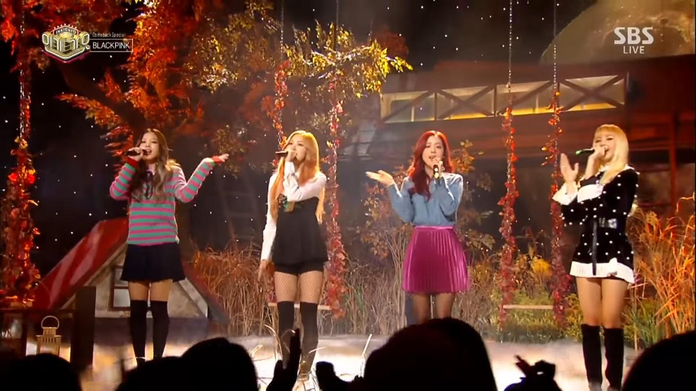 اجرای موزیک ویدیو Stay در برنامه Inkigayo