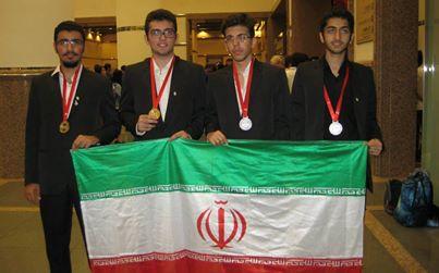 اعضای تیم ملی المپیاد کامپیوتر ایران ۲۰۱۴