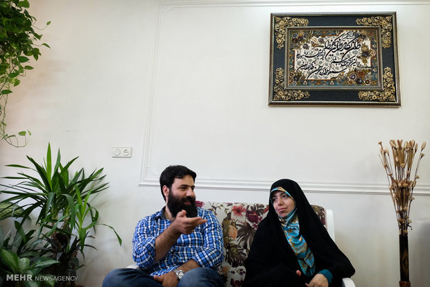 سارا عرفانی و محمدرضا موذن زاده