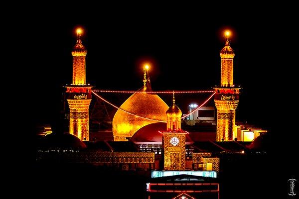 عکس حرم زیبای امام حسین