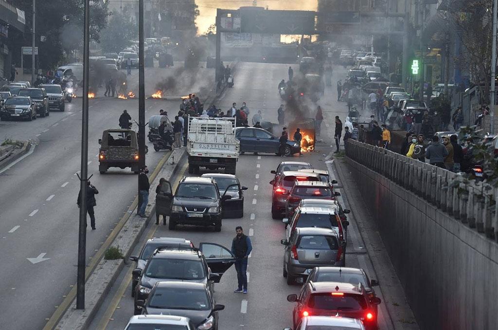 افزایش مشکلات و افزایش اعتراضات در لبنان
