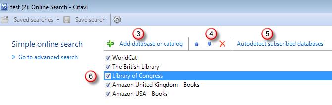 انتخاب کتابخانه مورد نظر
