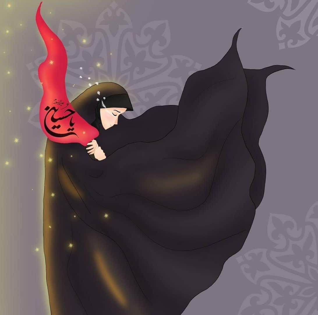 چله نقاب پویش إکمال حجاب با نقاب در مواسات با حضرت زینب سلام الله علیها