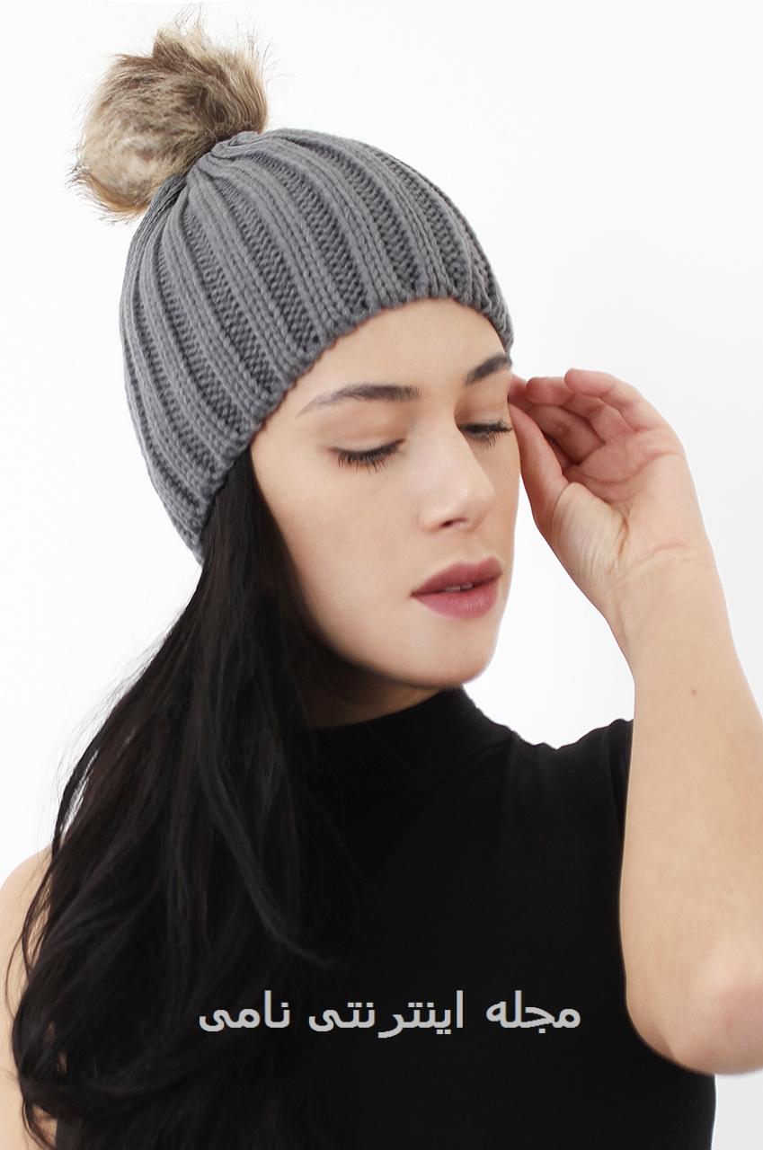 کلاه زمستانی دخترانه جدید