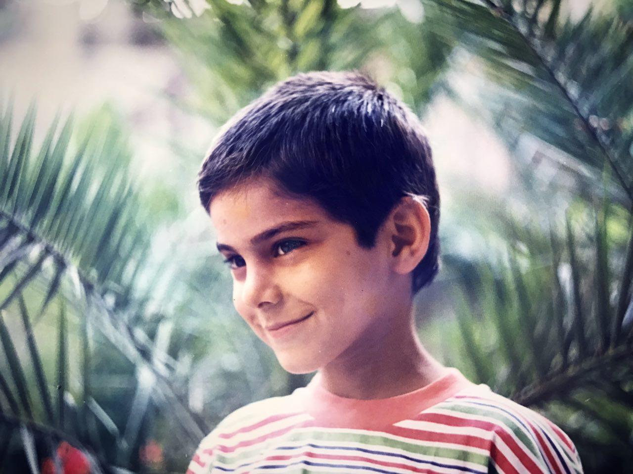 عکس کودکی سیامک عباسی