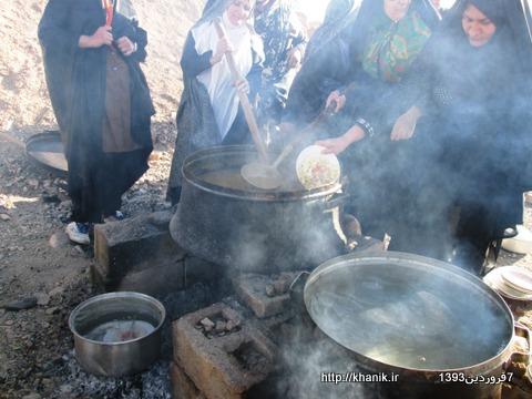 بلغور نذری در امامزاده 7فروردین93