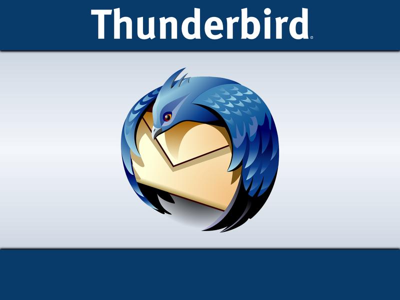 مدیریت ایمیل با Thunderbird