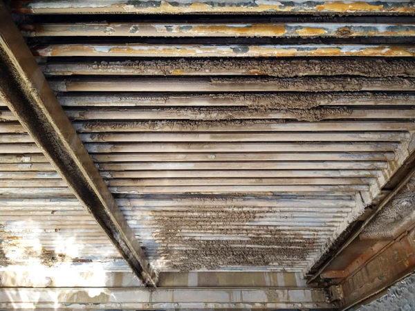 رسوب و گرفتگی کویل گالوانیزه در Cooling tower
