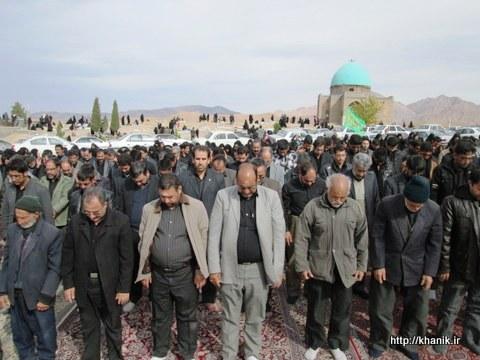 نماز ظهر عاشورا در خانیک فردوس آبان1392