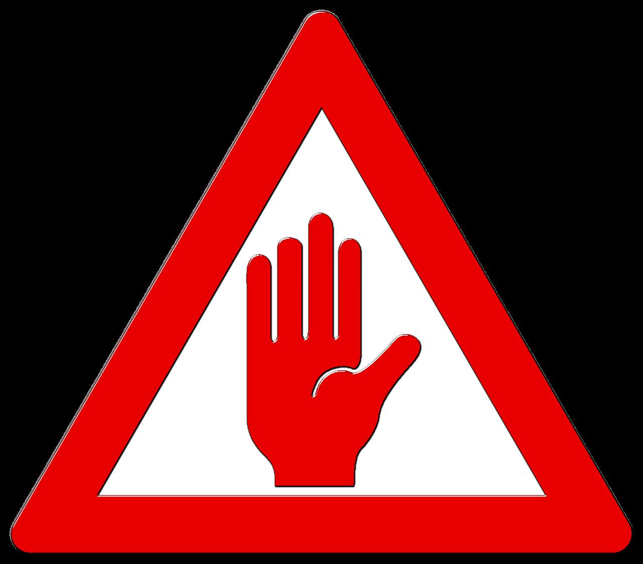 اخطار دقت کنید مراقب باشید