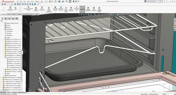 محیط نرم افزار سالیدورک برای طراحی صنعتی و مهندسی معکوس ایده آل است