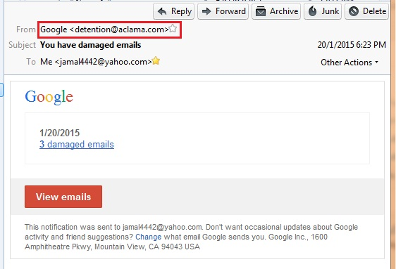 how to change view of emails in google mail